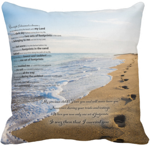 Footprints in the Sand Poem | Beautiful